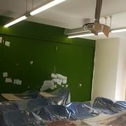 Pintado de paredes y techos