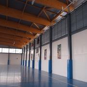 Pabellón Deportivo: instalación eléctrica e iluminación