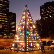 pacman-árbol-de-navidad-madrid