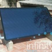 Instalación solar para producción de agua caliente para 4 personas