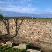 pared de piedra de alar