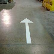 Flecha viales de entrada material de construcción