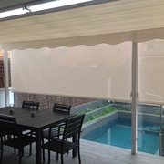 Distribuidores Bandalux - Pérgola y cortinas enrollables con Polyscreen