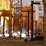 Estructura en bloque de vivienda