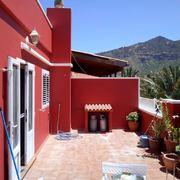 Proyecto pintura exterior balcones de edificio y puerta entrada exterior