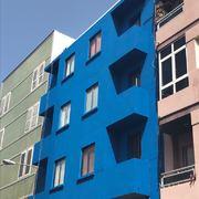 Proyecto pintura exterior de edificio trabajo vertical.
