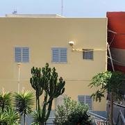 Pintura exterior de fachada de vivienda