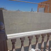 Pintura exterior de terraza
