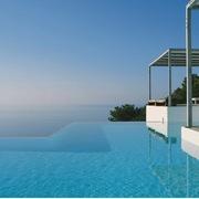 piscina infinita
