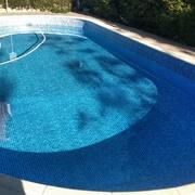 Impermeabilización de piscina con lamina de PVC armado