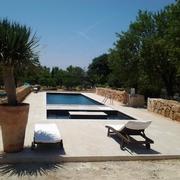 Construcción de piscina en Santa Maria