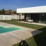 Construcción casa unifamiliar estilo moderno, Barcelona