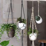plantas colgantes cuerdas - Plantas Colgantes De Interior