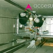 Plataforma para montaje de ascensor