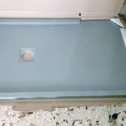 Cambio de plato ducha de fibra de vidrio por uno de resina y gel Coat efecto pizarra