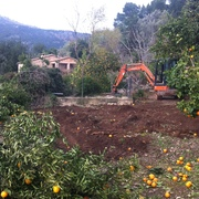 Tiendas Roca - Construcción piscina 8x4