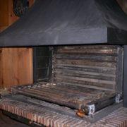 tranformar hogar de leña para colocar radiadores