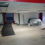 Proyecto de obras para Centro Deportivo o Gimnasio. Instalación de un sistema de ventilación. Medidas contra incendios.