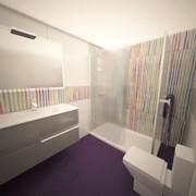 Reforma y Proyecto Decoración de Baño secundario en Las Rozas de Madrid