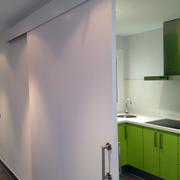 Puerta cocina de 2 m ancho / 2,40 m altura
