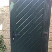 Puerta de entrada PVC en chalet