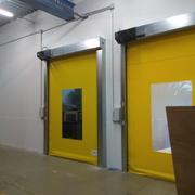 Instalación de puertas rápidas de PVC, Barcelona