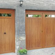 Puertas de entrada y garage en pvc embero en Vizcaya