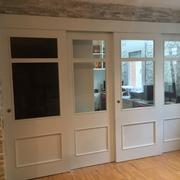puertas correderas lacadas vidrieras