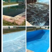Puesta a punto de piscina comunitaria