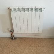Cambiar radiadores de chapa con llaves monotubo