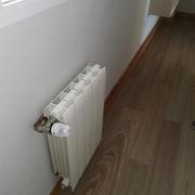 Instalación calefacción completa vista