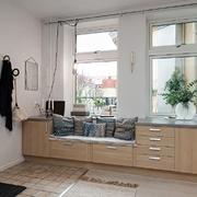 recibidor  con muebles de cocina
