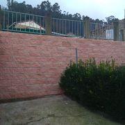 Reconstrucción de muro