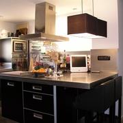 Reforma cocina en Barcelona: isla central