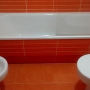 Reforma integral de un  baño en Sanxenxo