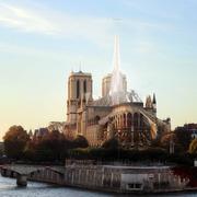 Rehabilitación de la cubierta de Notre-Dame en París