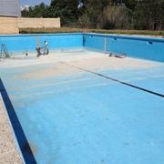 Reforma de piscina en centro deportivo