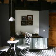 Salón redecorado