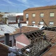 reforma de tejado con panel sandwich