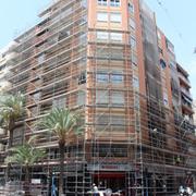 Distribuidores Hilti - Rehabilitación de edificio Benito Pérez Galdós 64, Alicante