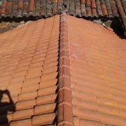 Rehabilitación de un  tejado en  Valdesoto en  Asturias
