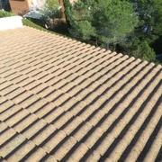 Reparación de tejado y chimenea en Boscos de Tarragona