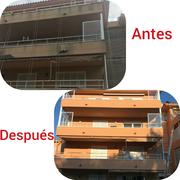 Reparación fachada completa.