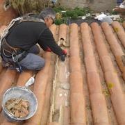 Reparacion de gotera en tejado