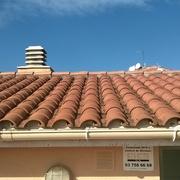 Reparación de tejado, impermeabilización ,formación y  rejuntado  del terrado  en Barcelona