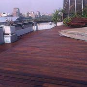 Restauración de Tarima y mobiliario exterior
