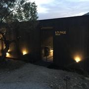 Iluminación LED hotel en Castell de Guadalest