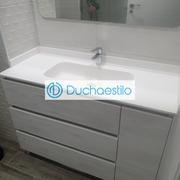 Distribuidores Kassandra - Reforma baño con mueble a medida