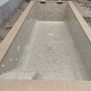 Revestimiento interior Aqualuxe Mallorca de Hisbalit.