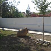 Revestir muro y pintar